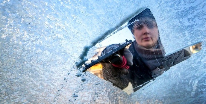 Limipar correctamente hielo limpiaparabrisas