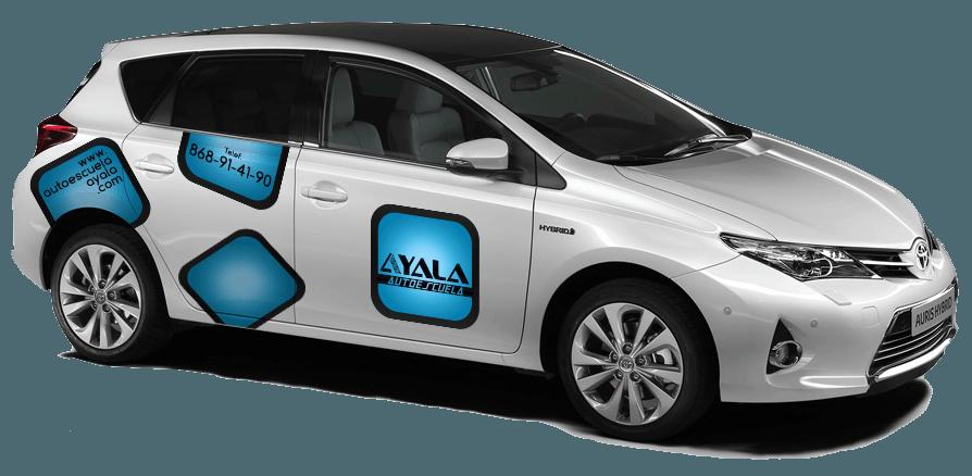 El concesionario Toyota Murcia entrega un vehículohíbrido a Autoescuela Ayala