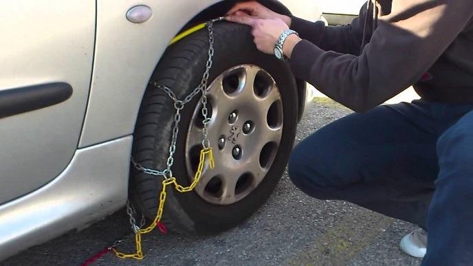 Cómo poner las cadenas para la nieve